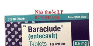 Thuốc Baraclude 0.5mg Entecavir điều trị virus viêm gan B (1)