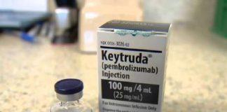 Thuốc Keytruda 100mg/4ml Pembrolizumab điều trị ung thư trúng đích (1)